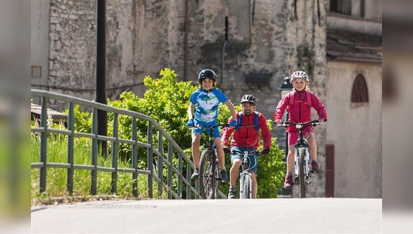 Familienurlaub im Fahrradsattel