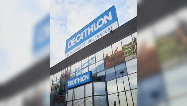 Die zweite Decathlon-Filiale in Oesterreich hat eroeffnet.