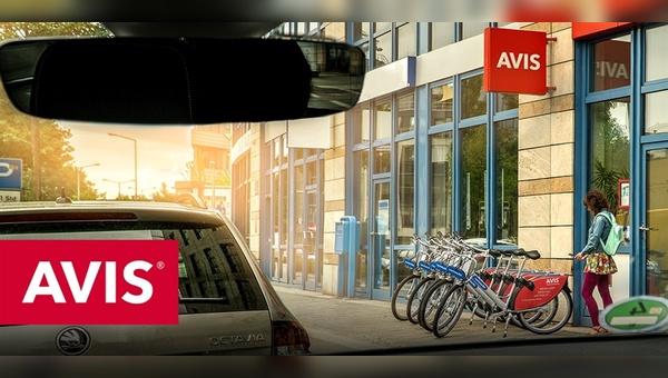 Avis Autovermietung setzt künftig auch aufs Fahrrad.