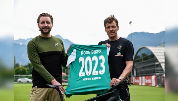 Rose Bikes und Werder Bremen radeln kuenftig gemeinsam