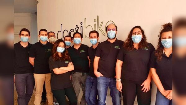 Das Team von Doctibike in Frankreich