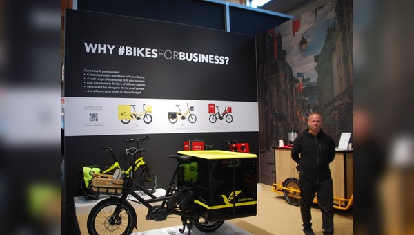 #BikesForBusiness auf der Eurobike bei Tern