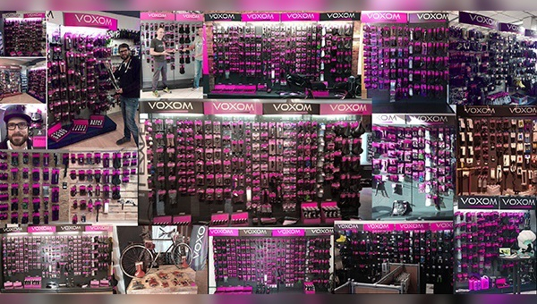 Wandsysteme von Voxom haben im Fachhandel Einzug gefunden.