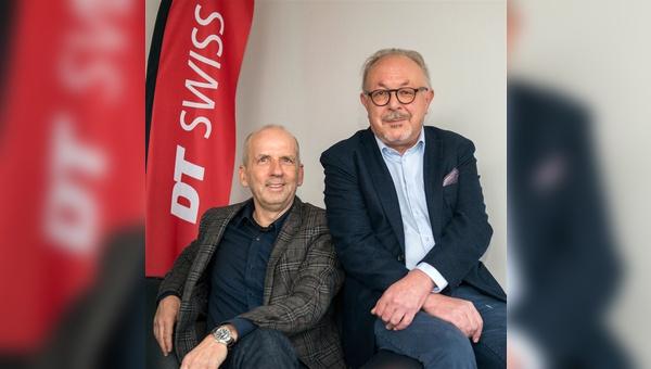 Frank Böckmann und Maurizio D'Alberto teilen sich künftig bei DT Swiss die Firmenanteile.