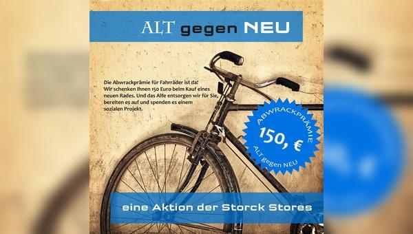 Abwrackprämie - neu aufgelegt für Fahrräder