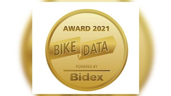 Der erste BikeData Award in Gold geht an Bergamont.