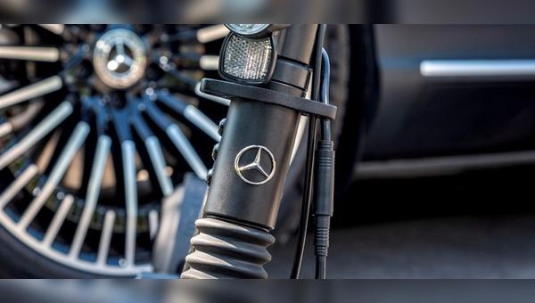 E-Tretroller gibt es bald auch mit Mercedes-Stern