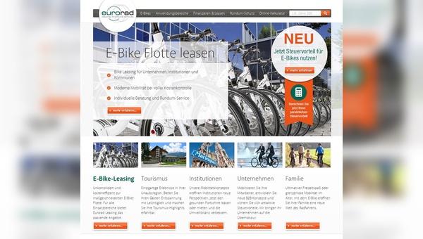 Screenshot von eurorad.de