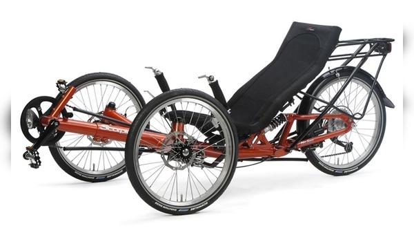 Sitzkomfort wird bei Liegerädern groß geschrieben