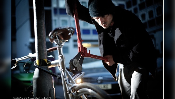 In Deutschland werden Jahr für Jahr rund 300.000 Fahrräder als gestohlen gemeldet.