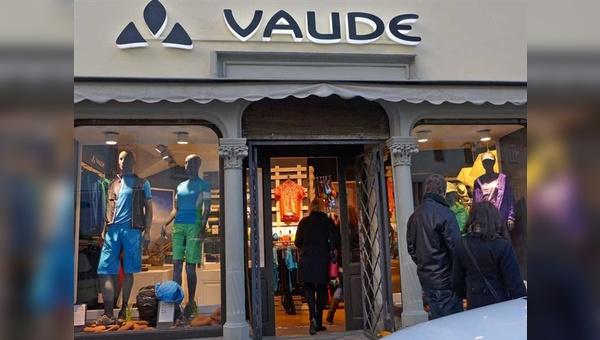 Für den neuen Vaude-Store in Konstanz zeichnet ein bekannter Fahrradhändler verantwortlich.