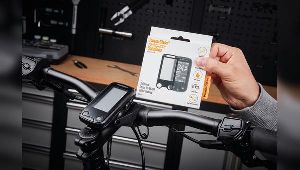 Panzerglass bietet jetzt auch Produkte für den Schutz von Displays am Rad. Vertrieb: Paul Lange