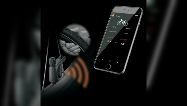 Eine App schafft Verbindung zwischen Fahrrad und Smartphone