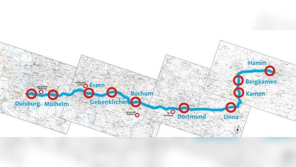 Projekte, wie der neue Radschnellweg RS1 Ruhr, sind in NRW künftig offiziell eine Aufgabe des Landes.
