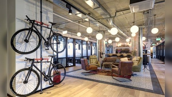 Blick ins neue Büro in Berlin