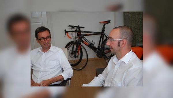Andreas Lübeck und Ulf Blume