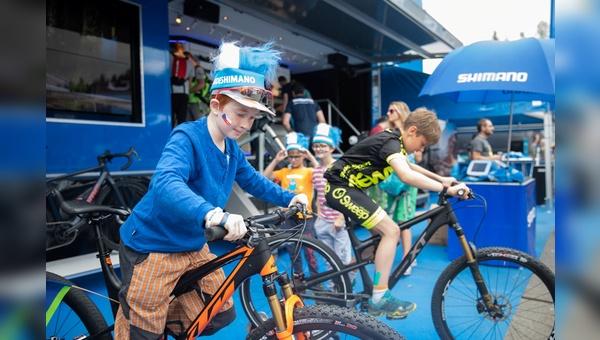 Shimano plant vielfaeltige Initiativen bei UCI-Veranstaltungen.