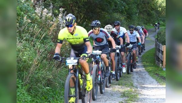 In Ischgl findet eine Jedermann E-Bike-WM statt.