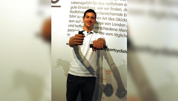 Marketing-Manager Matteo Paccagnella kündigte auf der Bike Expo einige Neuerungen bei Selle Royal an.