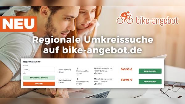 Das Online-Portal hat eine regionale Suchfunktion eingeführt.
