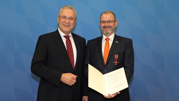 Joachim Herrmann (links) und Armin Falkenhein