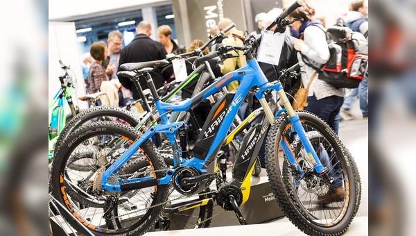 Rund 250 Aussteller präsentieren auf der Fahrrad Essen alles rund ums Rad.