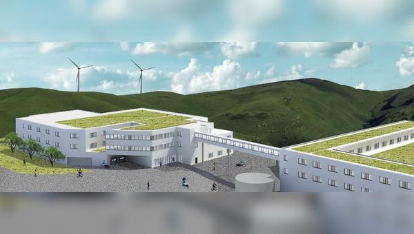 Der 2019 bezogene neue Standort bei Darmstadt waechst weiter. Eine neues Gebaeude soll im Juli 2022 fertiggestellt werden.