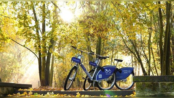 Das Bikesharing-Unternehmen aus Leipzig engagiert sich fuer den deutschen Wald.
