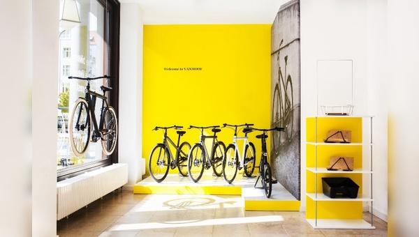 Erster Shop-in-Shop von Vanmoof in Deutschland