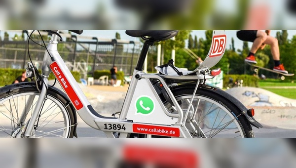 """Die Deutsche Bahn AG mit seinem Service """"Call a Bike"""" ist ein Anbieter der ersten Stunde."""