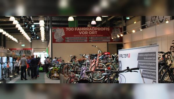 Bike&Co präsentierte sich seinen Händlern in einer eigenen Halle