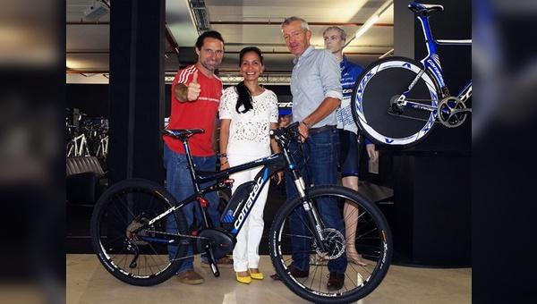 Alexander Huber mit Cielo und Konrad Irlbacher