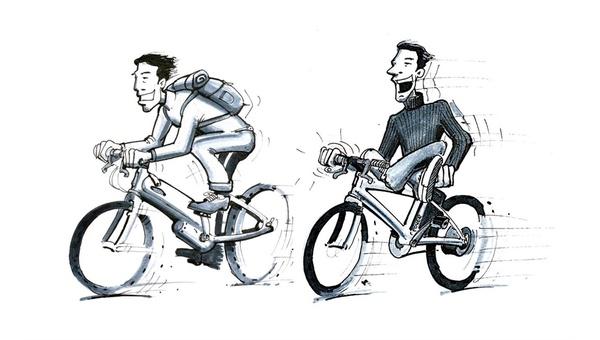 Pedelec oder E-Bike? Ursprünglich waren das zwei verschiedene Dinge.