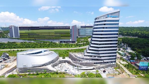 Neuer Firmensitz von Giant in Taiwan