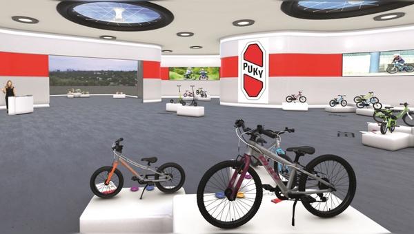 Blick in den virtuellen Showroom