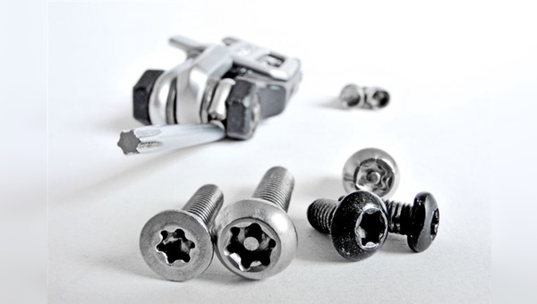 Torx-Schrauben: Immer häufiger lösen sie die Inbus-Schraube am Fahrrad ab.