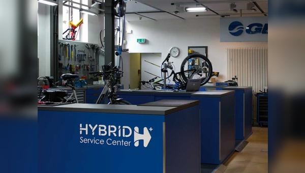 Fahrradhersteller Giant hat in seiner deutschen Niederlassung eine Musterwerkstatt für E-Bikes eingerichtet. Bei der Planung wurden vor allem auch Sicherheitsaspekte berücksichtigt.