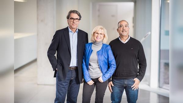 v.l.: Stefan Pierer, Susanne Puello, Felix Puello