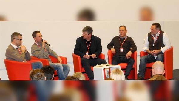 Beim velobiz.de Marketing Workshop wurde auch über die Zukunft von Fachmessen diskutiert.