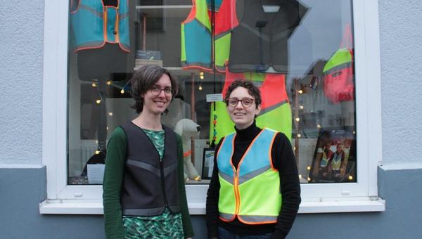 Antonia Berndt hat mit Geschaeftspartnerin Julia Meinert ein neues Unternehmen gegruendet.