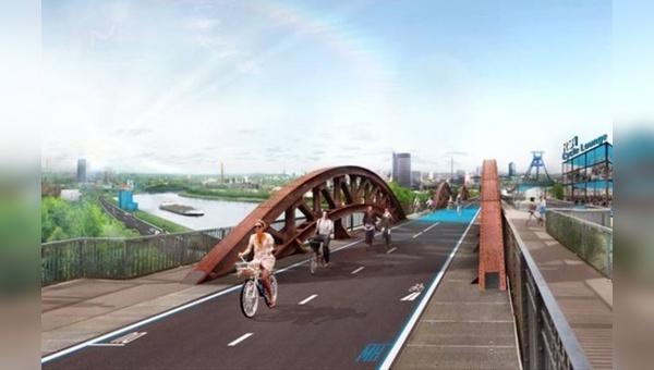 Der Bau von Radschnellwegen soll beschleunigt werden.