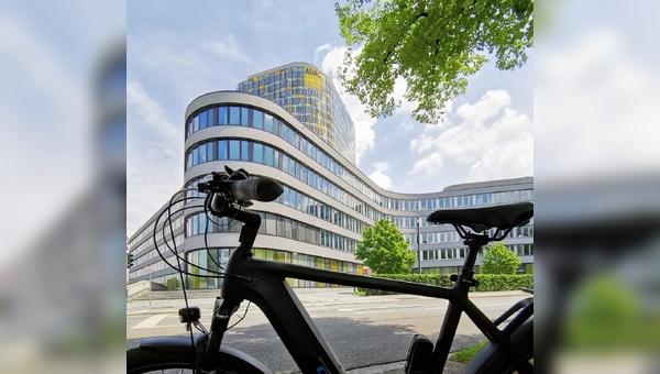 Das Thema Fahrrad wird beim ADAC in Muenchen immer interessanter.