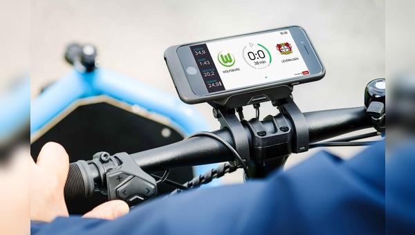 Die Cobi.Bike App bringt die Fußball-Bundesliga aufs Fahrrad.