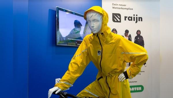 Raijn heißt die neue Regenbekleidung von Texlock