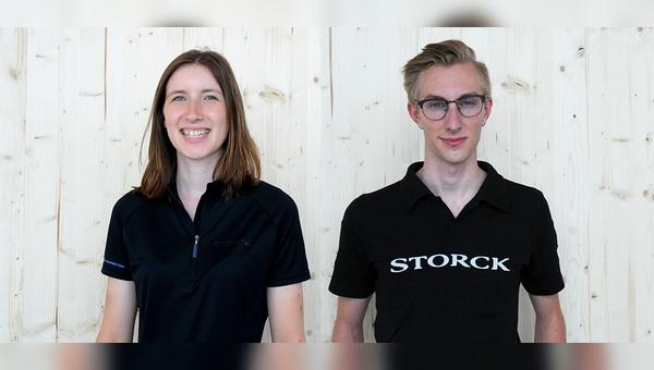 Annika Strölin und Ravn Sander