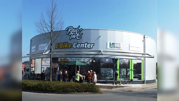 Mit dem E-Bike-Center hat Bico-Händler Stefan Hübner seine Ladenfläche um 450 qm erweitert.