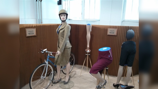 elegante Bikewear für  Damen von Schnieke-Atelier aus Berlin