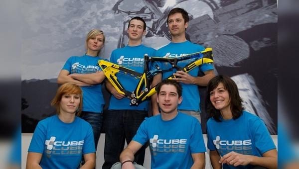 Neues Cube Enduro Team