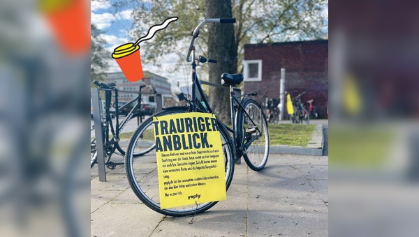 Plakataktion in Berlin und Hamburg