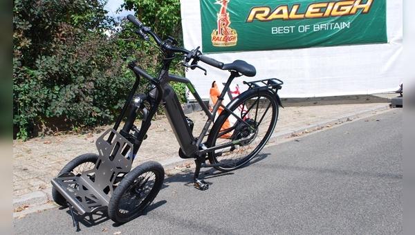 TReGo verwandelt ein Fahrrad in ein Lastenrad
